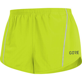GORE WEAR R5 Split Shorts Hombre, citrus green